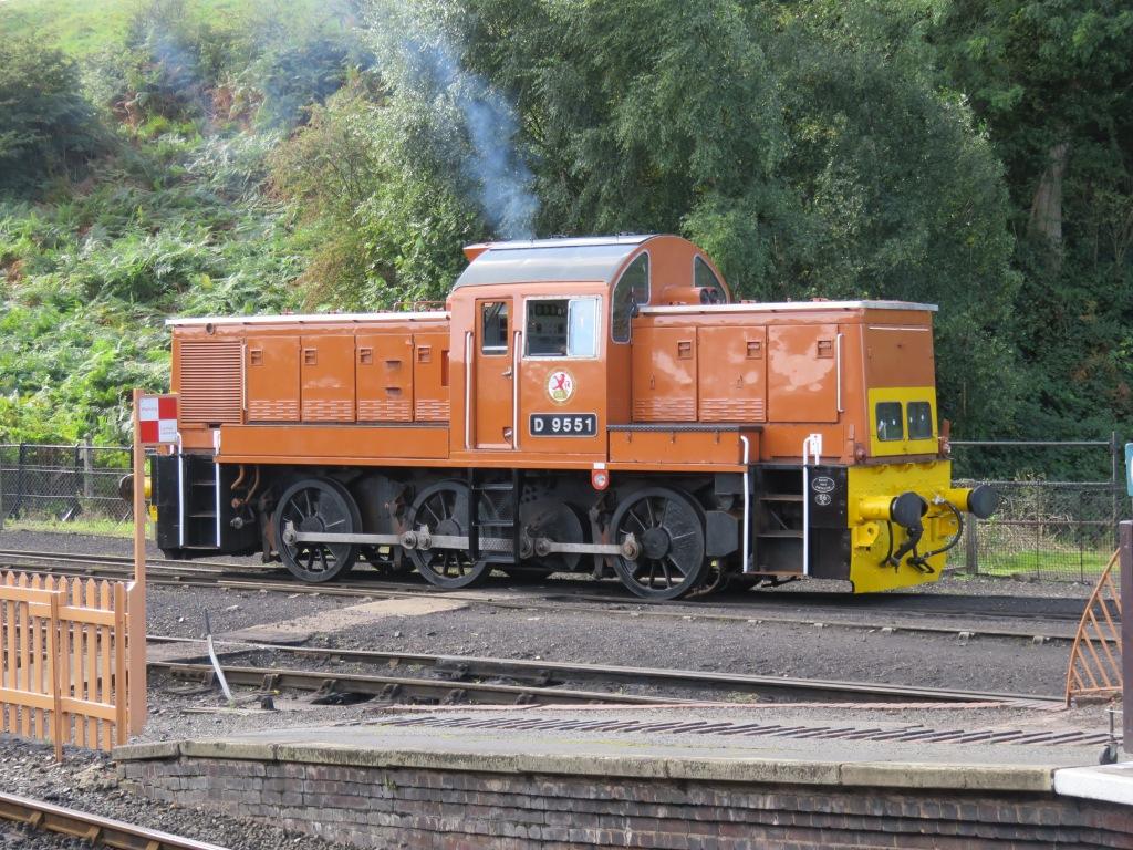 D9551 at Bridgnorth