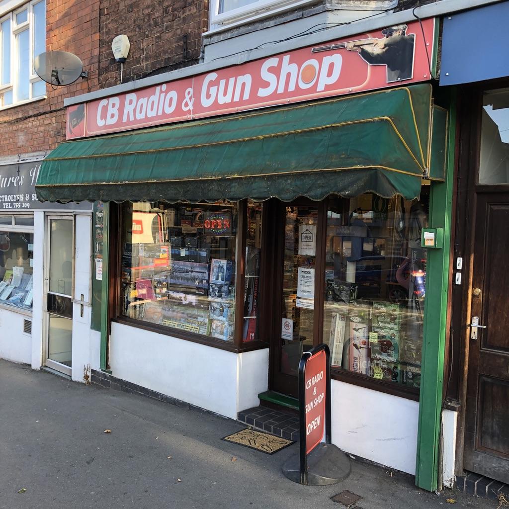 CB Radio and Gun shop at Kiddy!!!